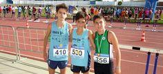 TORREMOLINOS. El joven atleta compitió el sábado, 28 de noviembre, en Torremolinos dondeparó el crono en 1:15.15.