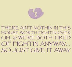 George strait-give it away