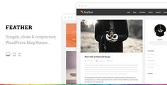 Review Feather Clean Flat Responsive WordPress Blog Themewe are given they also recommend where is the best to buy