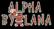 Alfabeto animado de galleta de jengibre mujer saludando. | Oh my Alfabetos!