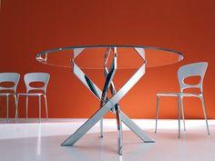 Tavolo Barone 01.91 tavoli cristallo fissi - tavoli