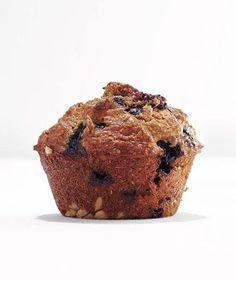 Banana-Blueberry Bran Muffin recipe
