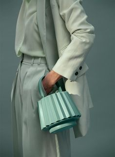 Fashion Mode, Fashion Bags, Fashion Trends, Fashion Flatlay, Fashion Outfits, Color Menta, Mint, Looks Street Style, Mode Editorials