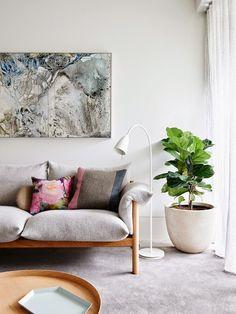 Modern living room...