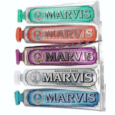 addicted to Marvis... the ginger mint is the best !!