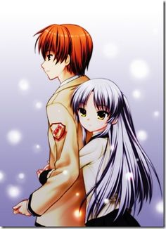 Otonashi and Angel - Angel Beats Best couple ever