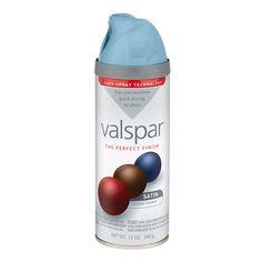 Zoomed: Valspar 12 Oz. Encounter Satin Spray Paint $3.98