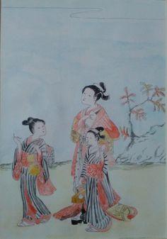 japán metszetek - Blogger.hu Japan Art, Watercolor Paintings, Japanese Art, Water Colors, Watercolour Paintings, Watercolor Painting