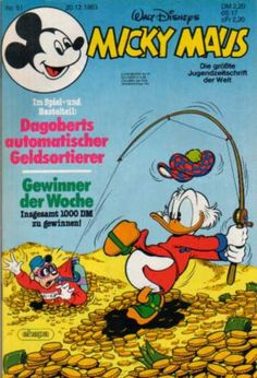 A cover gallery for the comic book Micky Maus Donald Sterling, Woody Woodpecker, Jesus Painting, Scrooge Mcduck, I Remember When, Indie Kids, 2 Set, Vintage Disney, Donald Duck