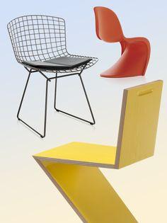 Les chaises iconiques reeditees