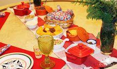 Decoração e receitas mexicanas para um jantar em casa.