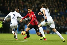 Zlatan Ibrahimovic of Manchester United in action during the Premier League match between West Bromwich Albion and Manchester United at The Hawthorns...