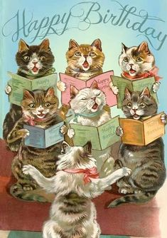 birthday cards with cats free onlineYou can find Vintage birthday cards and more on our website.birthday cards with cats free online Happy Birthday Vintage, Happy Birthday Images, Birthday Pictures, Happy Birthday With Cats, Birthday Cats, Cat Birthday Cards, July Birthday, Free Birthday, Birthday Quotes