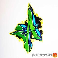 ▷ Graffiti Letra A - Graffiti Empire Graffiti Lettering Fonts, Tattoo Lettering Fonts, Graffiti Alphabet, Lettering Styles, Typography, Graffiti Designs, Styles Graffiti, Wie Zeichnet Man Graffiti, Street Art Graffiti