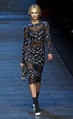 Desfile de Dolce & Gabbana. Milán. Resumen de las mejores pasarelas de la temporada otoño-invierno con fotos. vídeos, Front Row, StreetStyl 2011- 2012. Otoño-invierno.