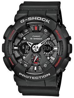 #CASIO #G-SHOCK #GA-120-1AER