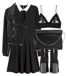 Untitled #6094 by laurenmboot on Polyvore featuring polyvore, fashion, style, Acne Studios, Fleur du Mal, rag & bone, AllSaints and clothing