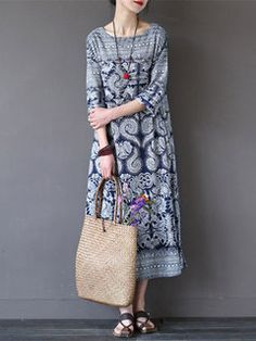 Women Vintage Frog Button Long Sleeve Hooded Long Maxi Dresses Online - NewChic Mobile