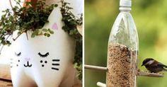 20 ideias para reciclar garrafas pet