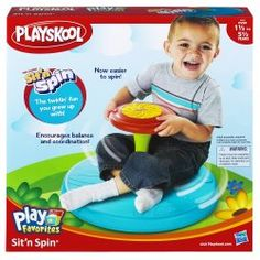 Sit n Spin Play Favorites Basic Playskool Preschool and Toddler Toys Games and Learning Activities by Hasbro Sensory Toys For Kids, Preschool Toys, Educational Toys For Kids, 4 Year Old Boy, Toys For 1 Year Old, All Toys, Toys R Us, Activity Toys, Kids Store