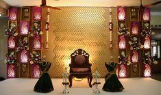 bamboo events Wedding Stage Design, Wedding Stage Decorations, Engagement Decorations, Backdrop Decorations, Flower Decorations, Wedding Expenses, Budget Wedding, Wedding Simple, Wedding Ideas