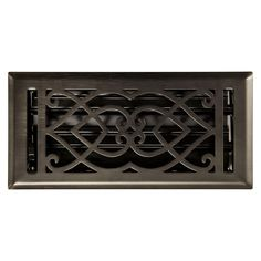 Victorian Steel Wall Register