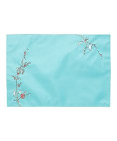 Another great find on #zulily! Chirp Embroidered Place Mat - Set of Four #zulilyfinds