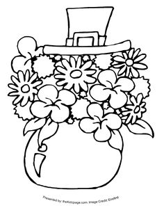 st patricks day coloring pages | St. Patrick's Day Stuff - Free Coloring Pages for Kids - Printable ...