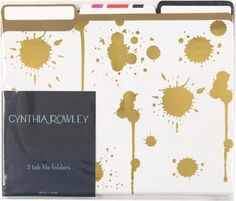 Shop Staples® for Cynthia Rowley File Folders, 3 Tab, Assorted Gold, 6/Pack. Enjoy everyday low prices and get everything you need for a home office or business. Get free shipping on orders of $49.99 or greater. Enjoy up to 5% back when you becom