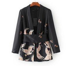 JP90 мода ветер Xianhe печати Cummerbun костюм