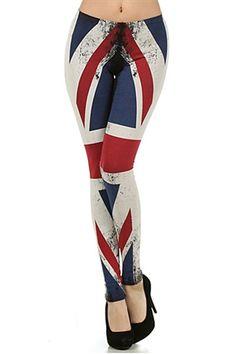 British Flag Leggings #worldofleggings #leggings #british #flag