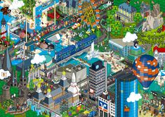 Nice pixel art from the hello.eboy.com site.
