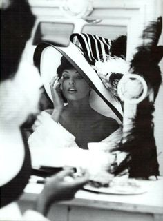 Linda Evangelista supermodel 80's 90's