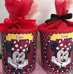 Disney Parties, Mickey Mouse Parties, Cupcakes Mickey, Minnie Mouse Birthday Cakes, Baby Boy Birthday Themes, Birthday Party Decorations, Minnie Mouse Decorations, First Birthdays, Diy Crafts
