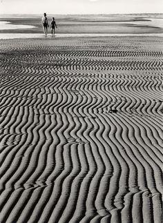 ludwig windstosser, walk at low tide, 1957.