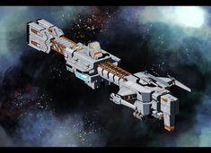 Viridian Battleship Style 1 by SDFleshmaster.deviantart.com on @DeviantArt