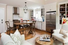 Gladstone Kitchen & Keeping Room Remodel - eclectic - kitchen - atlanta - TerraCotta Properties - nice layout