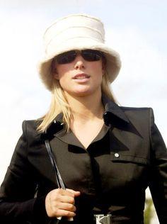 Zara Phillips Had that hat too