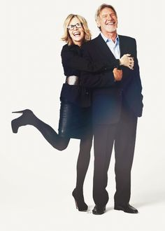 Harrison Ford and Diane Keaton