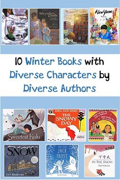 10 Winter Books with diverse characters written by diverse authors. Teaching Reading Strategies, Reading Fluency, Reading Intervention, Reading Activities, Winter Activities, Teaching Resources, Literacy Activities, Teaching Ideas, Interactive Read Aloud