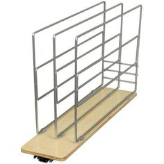 Knape & Vogt 14 in. x 5.44 in. x 22.25 in. Tray Divider Roll Out-TDRO-FNW-6 - The Home Depot