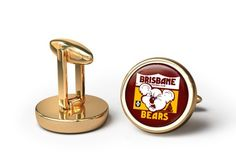 Brisbane Bears 80s Cufflinks 16