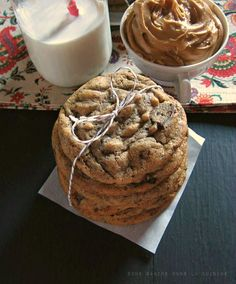 deserts for super bowl | Get the Peanut Butter & Cinnamon Chocolate Chunk Cookies recipe by ...