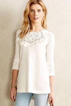 so cute -- Floreat Crochet Tassel Tunic  -- http://www.hagglekat.com/floreat-crochet-tassel-tunic/
