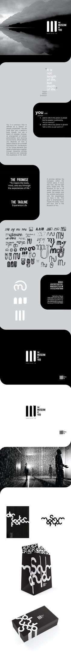 The Museum of You by Alex Kinal Wagner, via Behance
