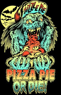 T-shirt design for SIZZLE PIE in the awesome city of Portland, OR.