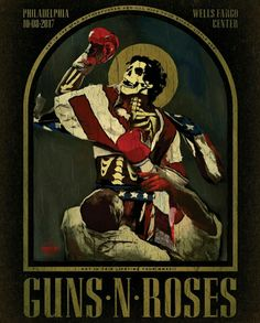Santa Muerte and Rock'n'roll Guns N Roses, Rock Roll, Musica Metal, Art Hippie, Rock Band Posters, Vintage Concert Posters, Rock Of Ages, Tour Posters, Movie Posters
