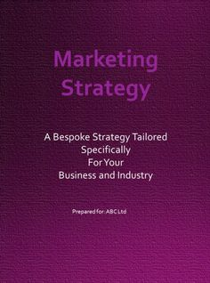 Personalised Marketing Strategy