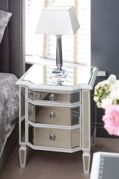Pair of Leonore Bedside Tables