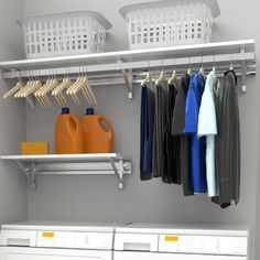 """Fantastic """"laundry room storage diy cabinets"""" detail is offered on our internet site. Have a look and you wont be sorry you did. Laundry Room Shelves, Laundry Storage, Laundry Room Organization, Laundry Room Design, Small Storage, Closet Storage, Diy Storage, Storage Ideas, Small Shelves"""